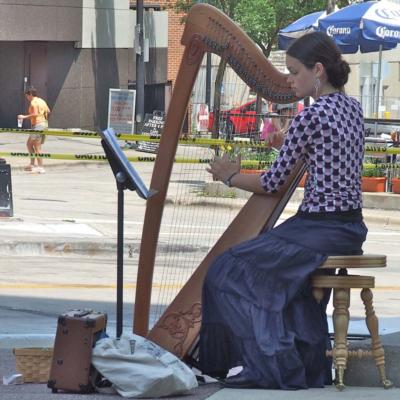 Cora Wiese Moore | Madison, WI | Celtic Harp | Photo #2