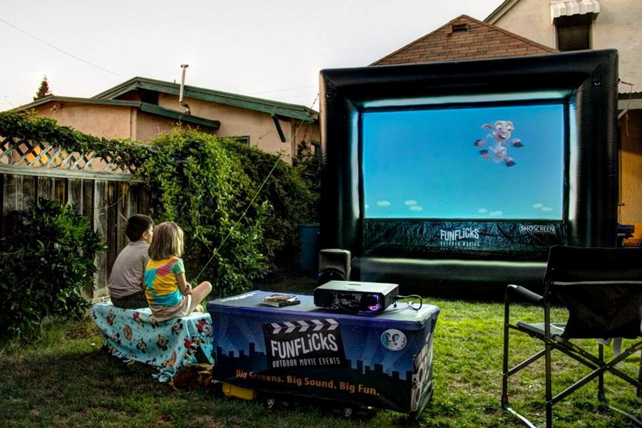 Funflicks In Outdoor Movies Video Gaming Party