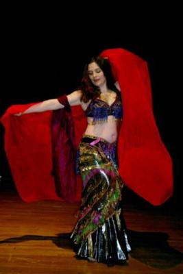 "Attar Mellea ""the ancient art of belly dance""  