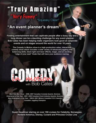Comedy In Motion with Bob Cates: Amazingly Funny! | Cambridge, ON | Clean Comedian | Photo #18