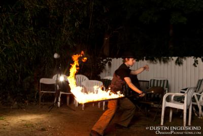 Red Swan | Hollywood, CA | Fire Dancer | Photo #7