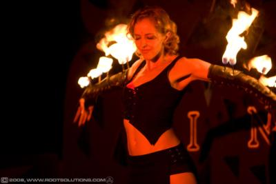 Red Swan | Hollywood, CA | Fire Dancer | Photo #1