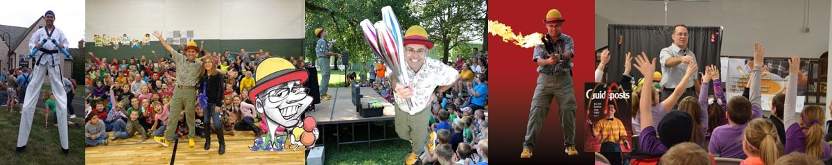 Dan Kirk: The Juggler With The Yellow Shoes