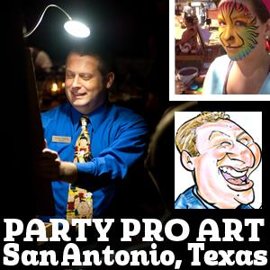 Austin Caricaturist | Caricatures & Face Paint by Party Pro Art