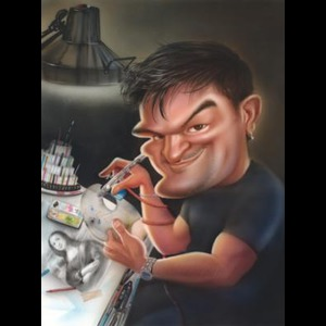 Shook Caricaturist | Roger Hurtado