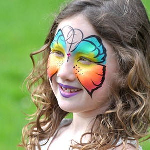 New Salem Princess Party | DazzleDay Face Painters and Let's Gogh Artventures