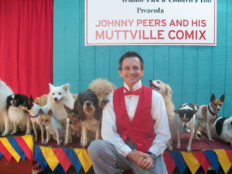 Johnny Peers Comedy Dogs Visual Comedy Artist - Animal For A Party - Bradenton, FL