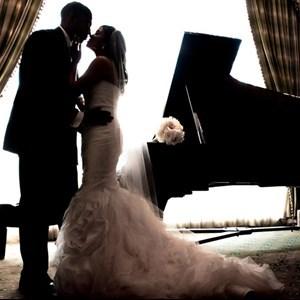 Pianist for Wedding Rehearsal Dress
