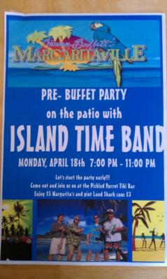 Island Time Band | Garner, NC | Jimmy Buffett Tribute Act | Photo #6