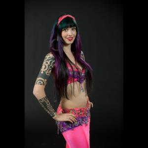 Trafford Middle Eastern Dancer | Nicole Edge-Belly Dancer & Fire Performer