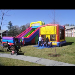Blue Mountain Lake Party Inflatables | All-In-One Entertainment