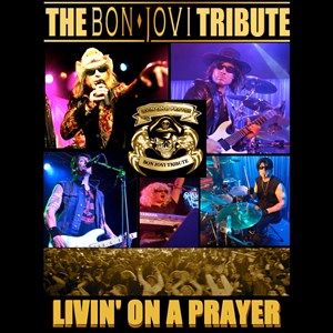 Chula Vista Tribute Singer | Livin' On A Prayer: Bon Jovi Tribute Artist