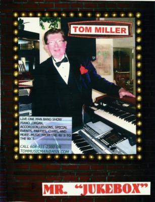 Tom Miller | Boynton Beach, FL | Keyboards | Photo #1