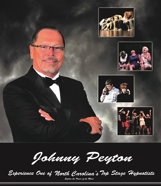 "Johnny Peyton - Comedy Hypnotist, ""Best of 2015"" - Comedy Hypnotist - Wilmington, NC"
