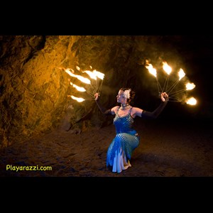 Orange Fire Dancer | Sacred Fire