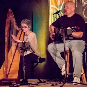Fairview Harpist | TAPESTRY - Denise & Michael Grupp-Verbon