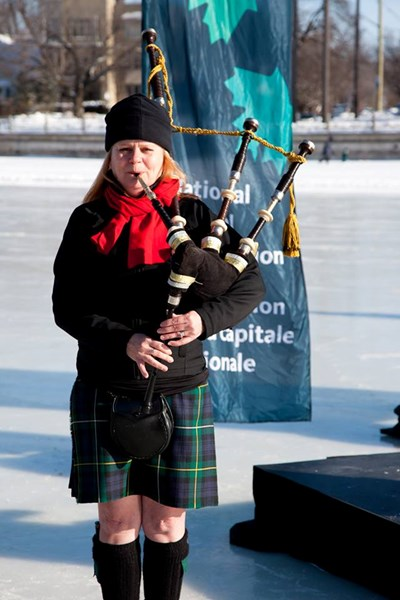 Bethany Bisaillion - Bagpiper - Ottawa, ON