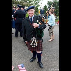 Boston Bagpiper | Bob Cameron, Piper