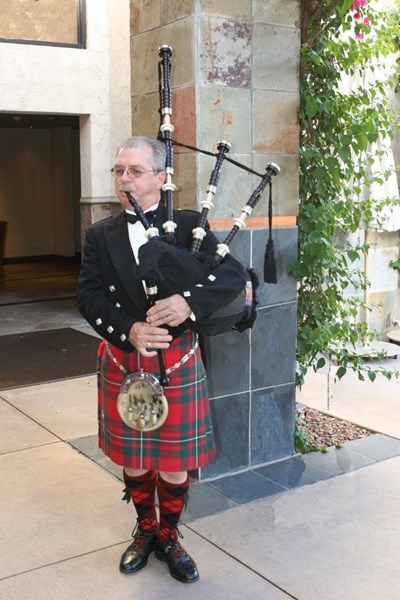 Pipe Major Leonard Wood - Bagpiper - Phoenix, AZ