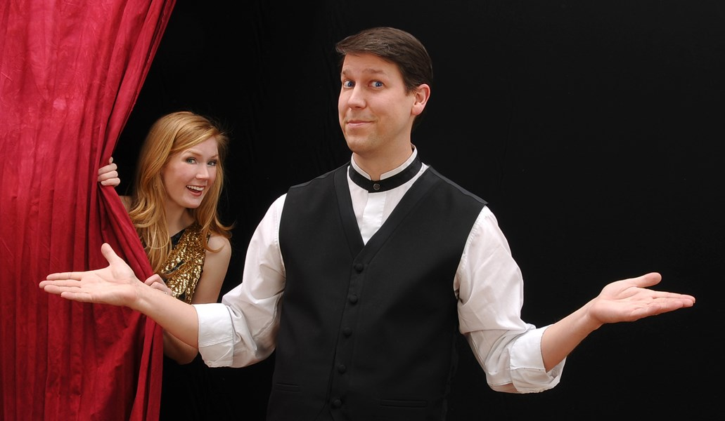 Corporate Comedian Magician... Mark Robinson - Clean Comedian - Portland, OR