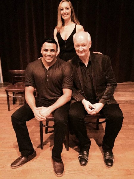 Performing with Colin Mochrie