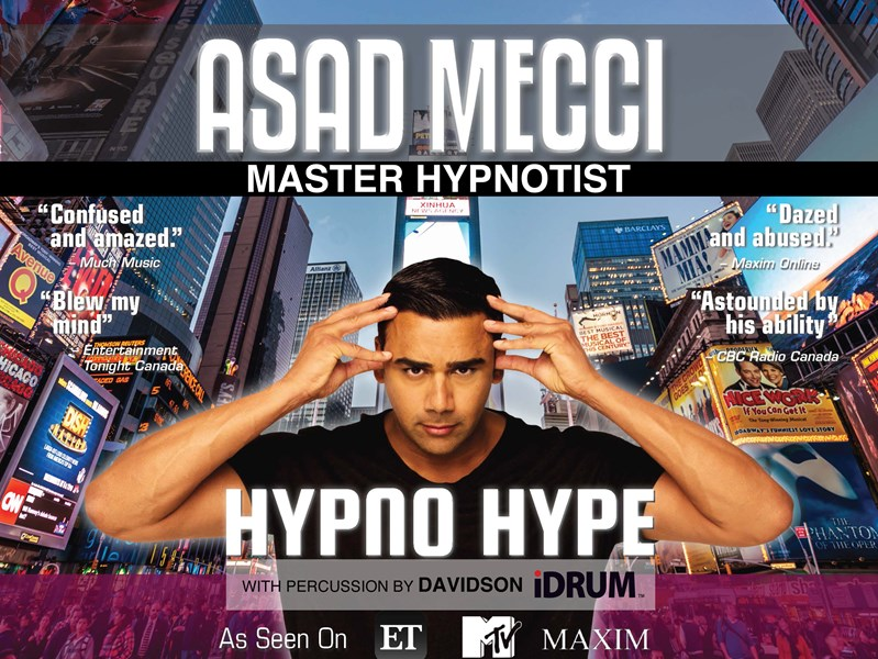 Asad Mecci - Comedy Hypnotist - Toronto, ON