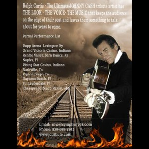Ralph Curtis Entertainer CMA Member/Tribute Artist - Johnny Cash Tribute Act - Lexington, KY