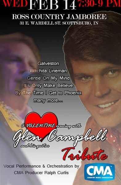 Tribute to Glen Campbell Johnny Cash - Johnny Cash Tribute Act - Lexington, KY