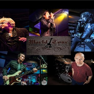 Huntington Beach, CA Classic Rock Band | World Tour-Legends of Rock
