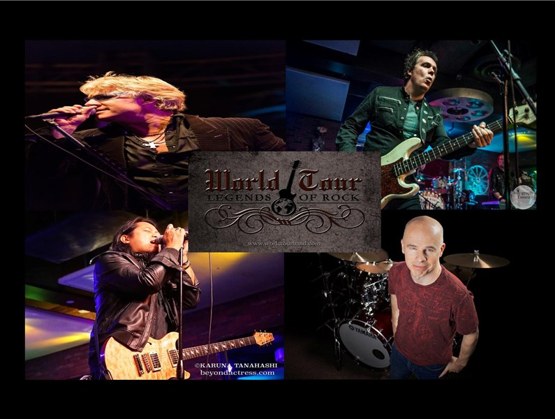World Tour-Legends of Rock - Classic Rock Band - Los Angeles, CA