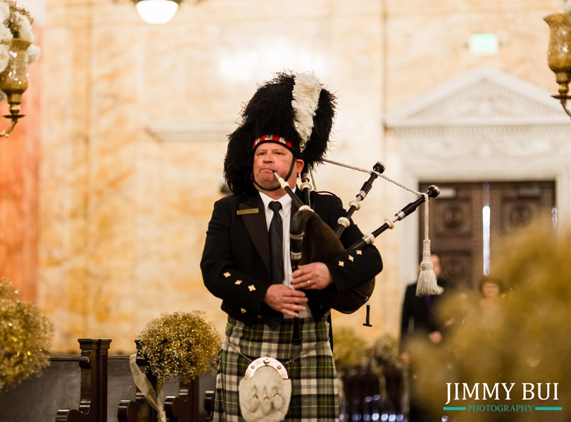 Pasadena Bagpiper- Wedding