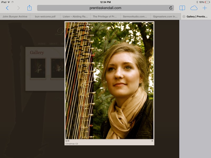 Prentiss Elisabeth Kendall - Harpist - Knoxville, TN