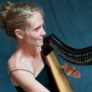 Bryant Pond Harpist | Shelley Otis