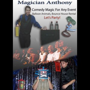 Jefferson City Temporary Tattoo Artist | Magician Anthony