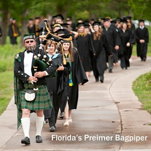 The Florida Bagpiper