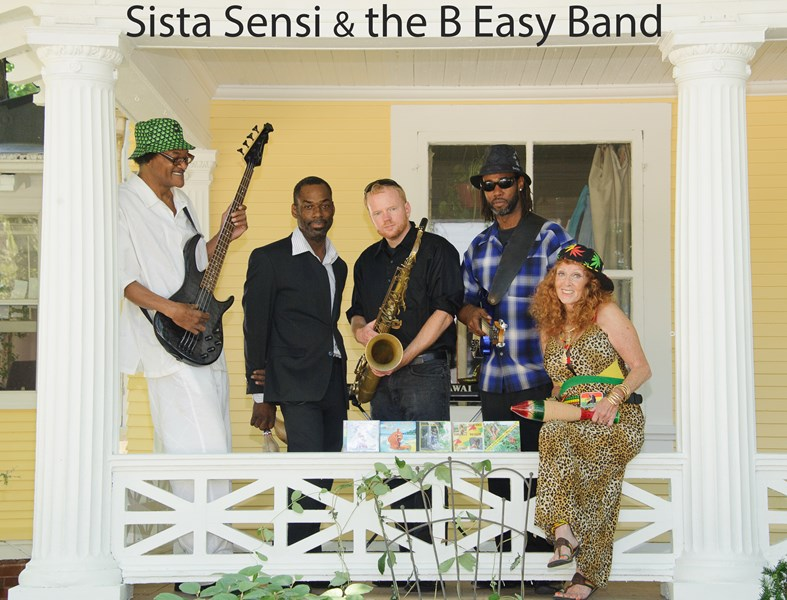 Sista Sensi and The B Easy Band - Reggae Band - Madison, WI