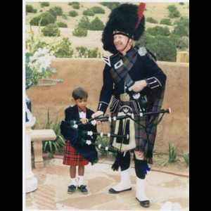 Fort Garland Bagpiper | K.A. 'Dusty' McDaniel