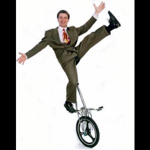 Lawrence Unicyclist | Bobby Hunt 'Circus Boy'