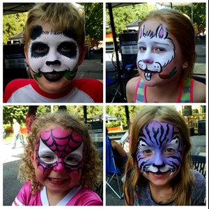 Flint Hill Face Painter | Kip's Face Painting!