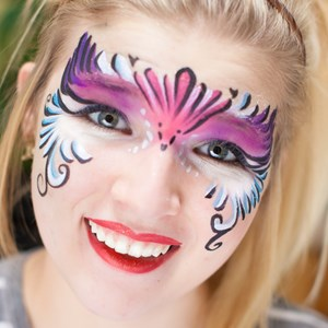 Mason Clown | Creative Key Face Painters - April Brock