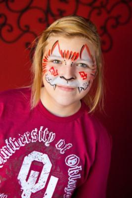 Creative Key Face Painters - April Brock | Yukon, OK | Face Painting | Photo #3