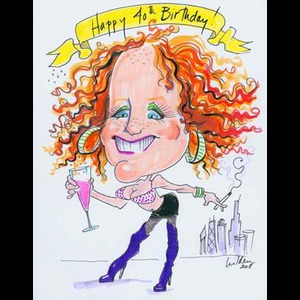 Fox Valley Caricaturist | Katherine Hilden