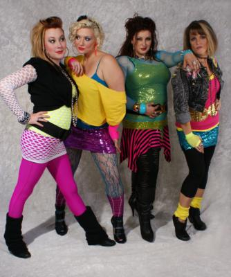photo of girls 80's style № 1288