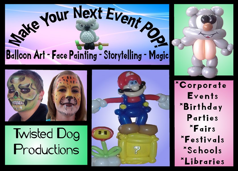 Twisted Dog Productions, Llc - Balloon Twister - Madison, NC