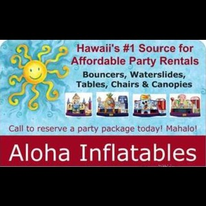 Hawaii Party Inflatables | Aloha Inflatables Party Rentals