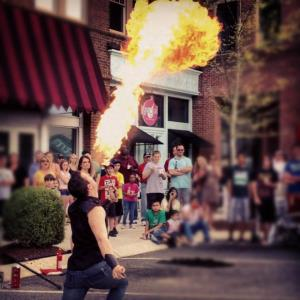 Chesterfield Fire Dancer | Jimmy Pyro