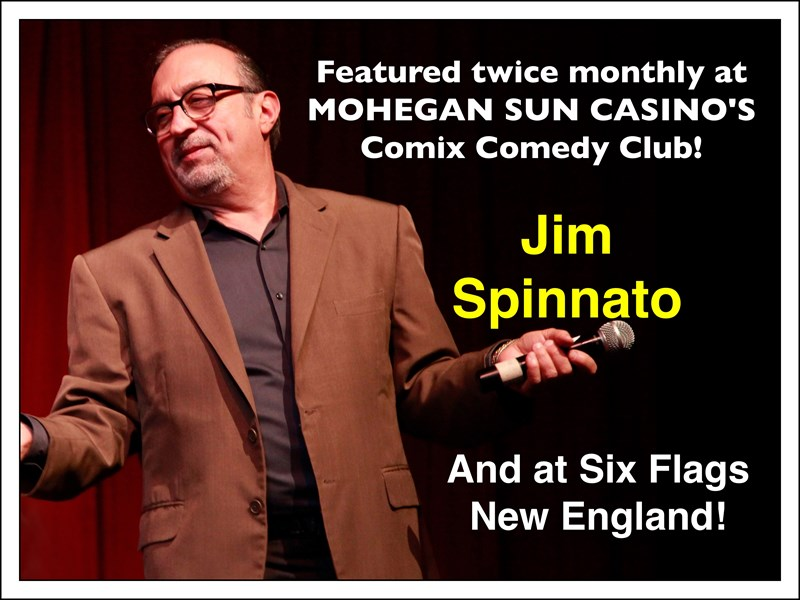 Jim Spinnato-DIRECT FROM MOHEGAN SUN & SIX FLAGS - Hypnotist - Waterford, CT