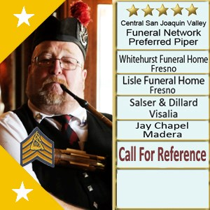 Oroville Bagpiper | I Pipe It-Bagpiper for Hire