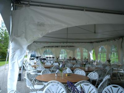 Patti's Party Tent Rental | Fernie, BC | Wedding Tent Rentals | Photo #16