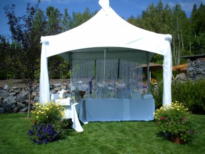 Patti's Party Tent Rental | Fernie, BC | Wedding Tent Rentals | Photo #12